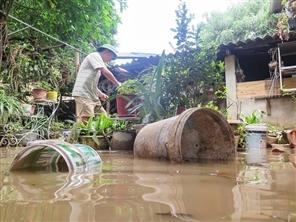 Tiêu thoát lũ vùng lòng chảo Điện Biên