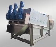 Máy ép bùn trục vít đa đĩa tiết kiếm chi phí xây dựng nhà máy xử lý rác thải