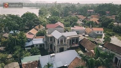 Chương Mỹ , Hà Nội: Chìm ngập trong biển nước