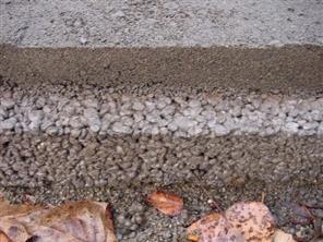 Công nghệ bê tông rỗng thoát nước có thích ứng với biến đổi khí hậu