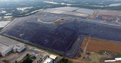 Xử lý mùi hôi từ khu xử lý chất thải Đa Phước tại TP. HCM
