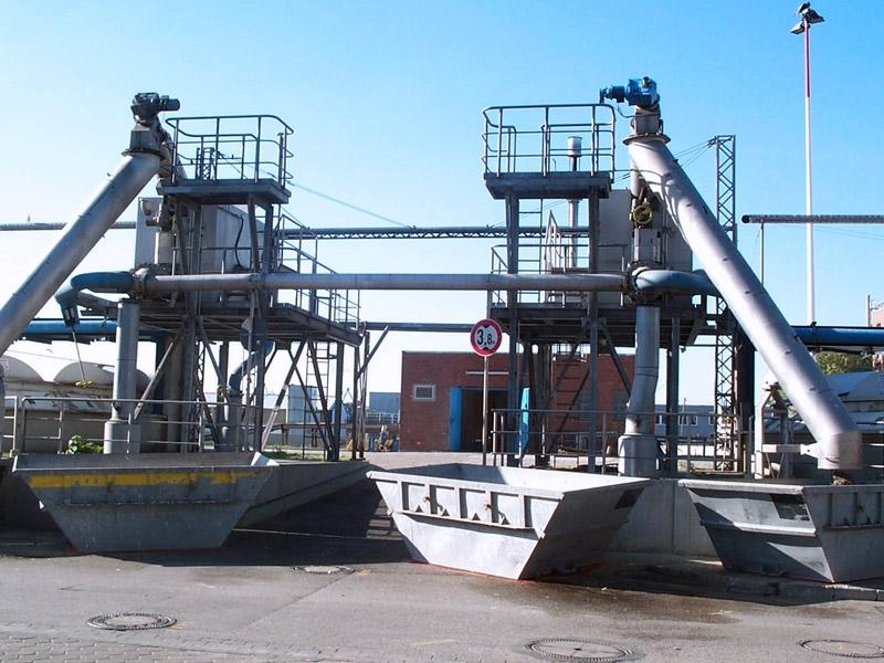HUBER Sludge Acceptance Plant ROTAMAT® Ro34