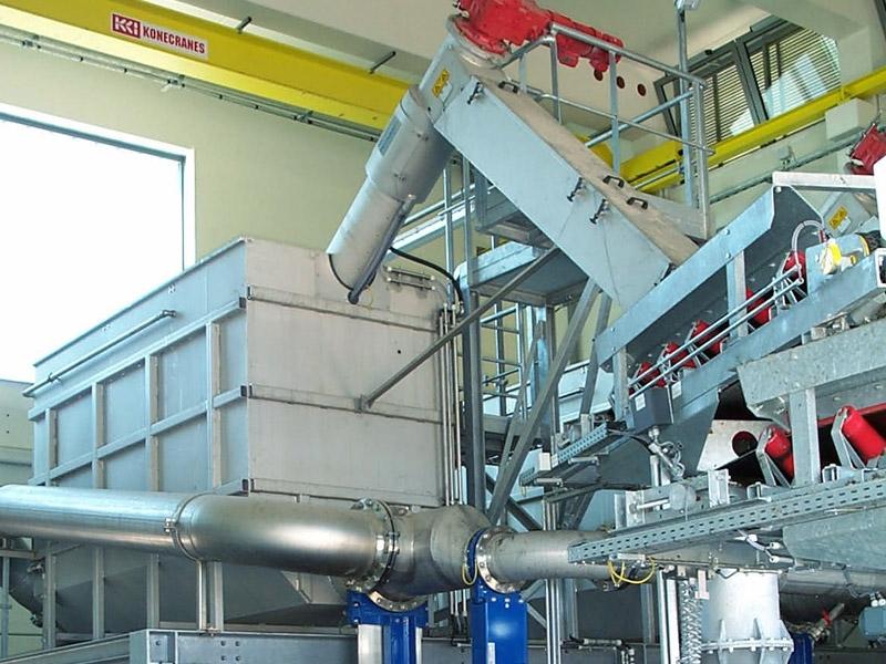 HUBER Sludge Acceptance Plant ROTAMAT® Ro35