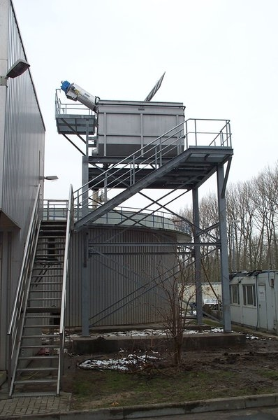 HUBER Sludge Acceptance Plant ROTAMAT® Ro36