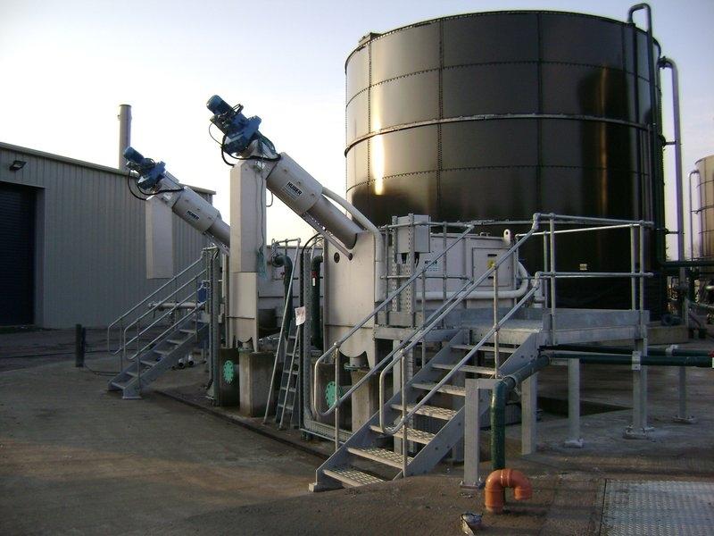 HUBER Sludge Acceptance Plant ROTAMAT® Ro37