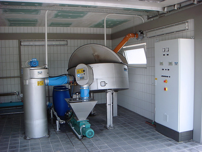 HUBER Disc Thickener S-DISC7