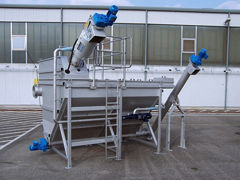 HUBER Complete Plant Hydro Duct ROTAMAT® Ro5 HD3