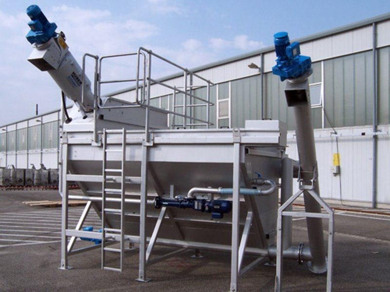HUBER Complete Plant Hydro Duct ROTAMAT® Ro5 HD4