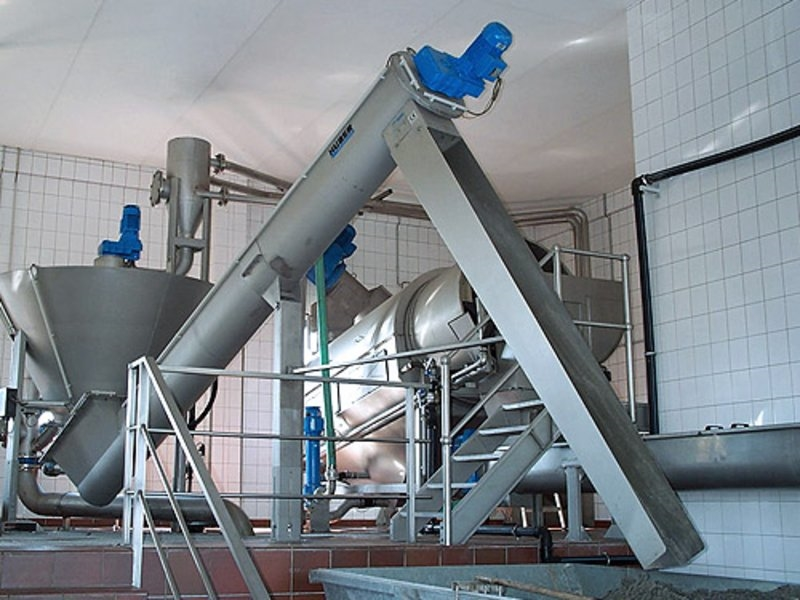 HUBER Coanda Grit Washing Plant RoSF44