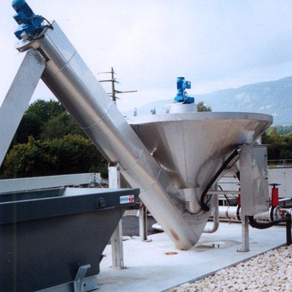 HUBER Coanda Grit Washing Plant RoSF45