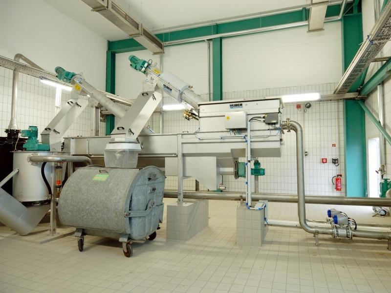 HUBER Sludge Acceptance Plant ROTAMAT® Ro3.3