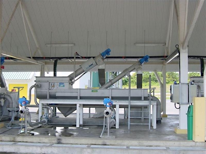 HUBER Sludge Acceptance Plant ROTAMAT® Ro3.33