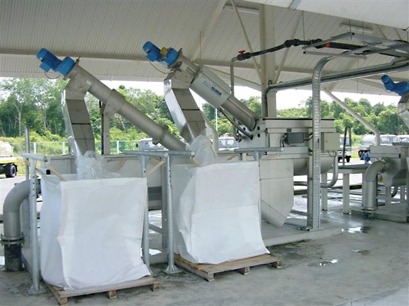 HUBER Sludge Acceptance Plant ROTAMAT® Ro3.34